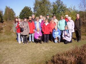 TPSK-Wandergruppe, Drover Heide, 15.10.2011